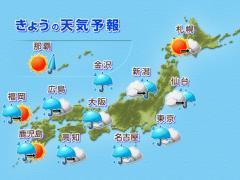 きょうの天気予報