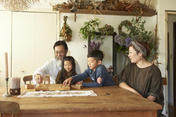 家族がいちばん心地いい インテリアB面ストーリー