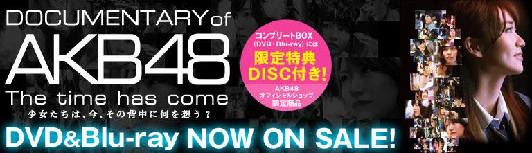 DOCUMENTARY of AKB48 DVD