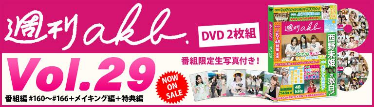 週間AKB Vol.29 DVD