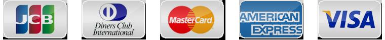 クレジットカード決済に対応
