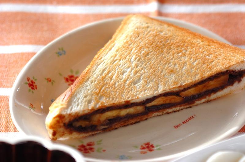 ホットチョコバナナサンド【E・レシピ】料理のプロが作る簡単 ...