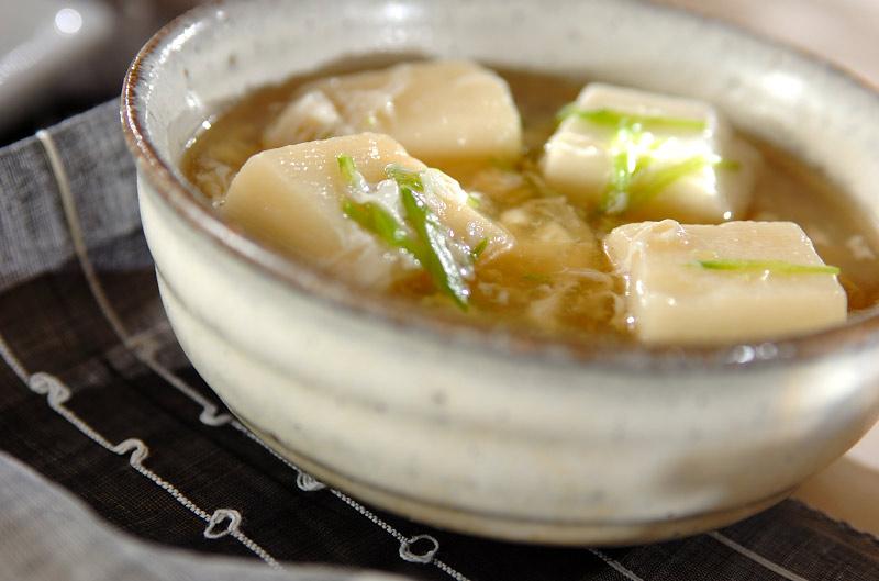 """はんぺんと卵白のとろみスープ : 胃腸休め&病み上がりに """"胃 ..."""