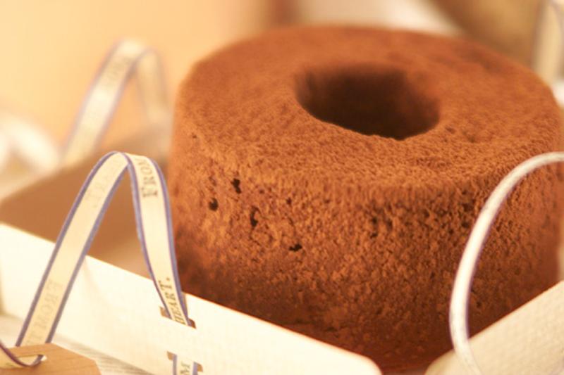 チョコレートシフォン【E・レシピ】料理のプロが作る簡単
