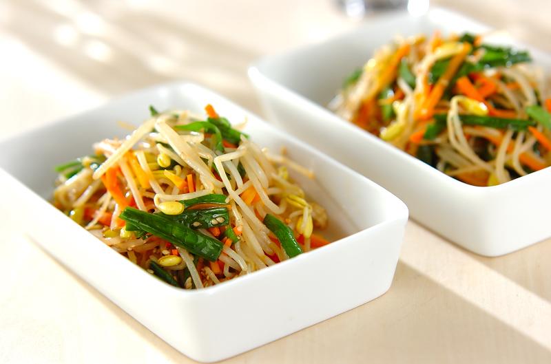 もやしのナムル完璧レシピ7。節約食材でも大満足の味?