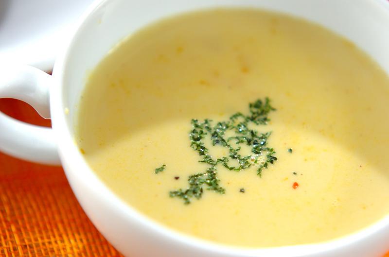 カボチャのミルクスープのレシピ・作り方 - 簡単プロの料理 ...