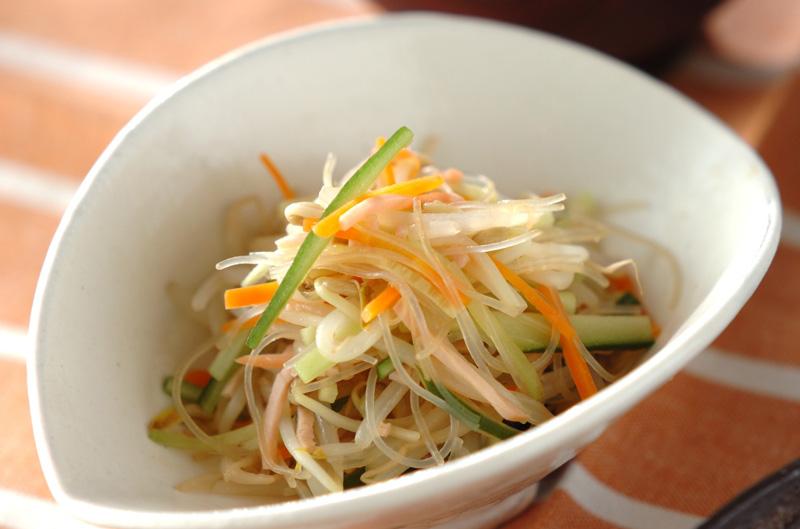 春雨サラダ 献立 調理時間 15分 118 Kcal  春雨サラダ【E・レシピ】料理のプロが作る