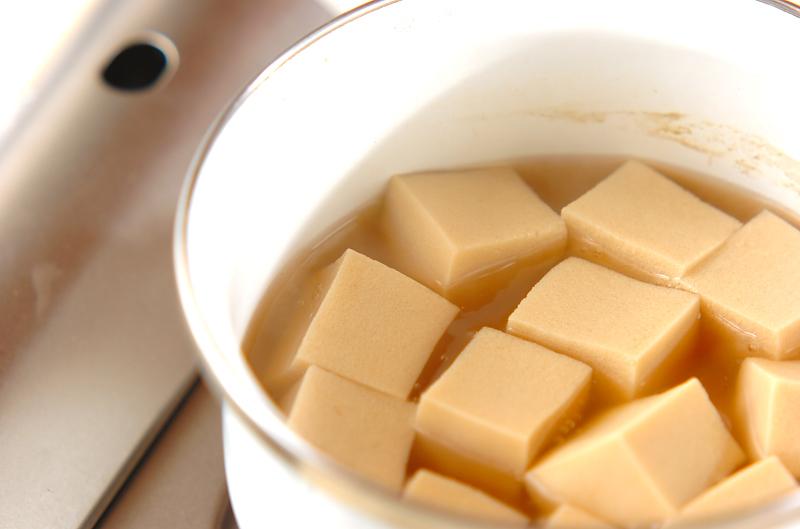 高野豆腐の栄養素知ってた?