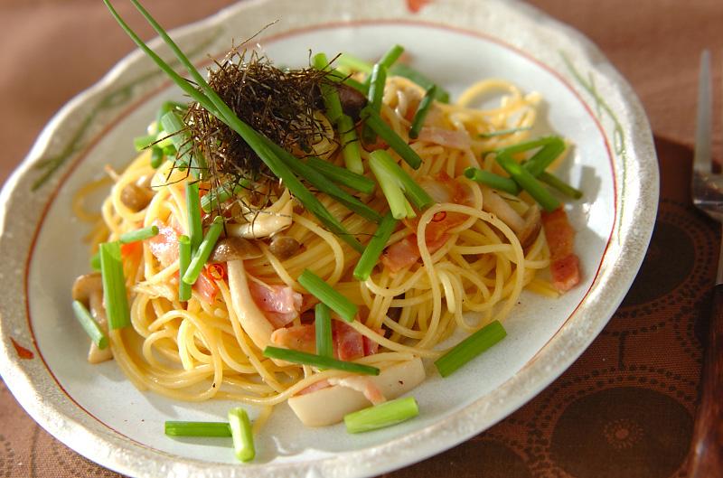 キノコの和風パスタ【E・レシピ】料理のプロが作る簡単レシピ ...