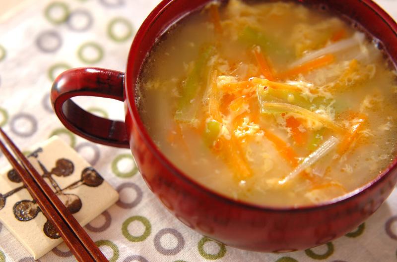 かき卵中華スープ【E・レシピ】料理のプロが作る簡単レシピ ...
