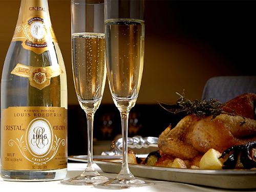 シャンパンは、ワインである。