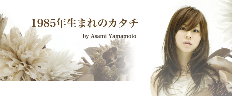 山本朝海ブログ「1985年生まれのカタチ」