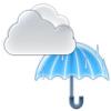 曇のち一時雨