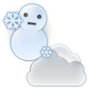 雪か雨のち曇