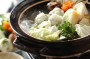 米団子入り鶏水炊き