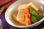 やさしい味の高野豆腐の煮物