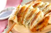 春キャベツの焼き餃子
