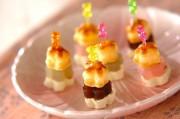 あんことクリームチーズの桜パイ