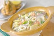 白菜の海鮮クリーム煮