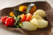 たっぷり野菜の塩麹蒸し