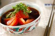 トマトの手づくりポン酢がけ