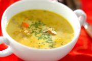 鶏肉のカレースープ