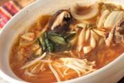 絶品スープで!やみつきキムチ鍋