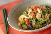 白菜とグレープフルーツのサラダ