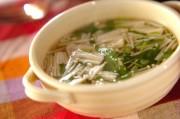 たっぷりエノキのスープ