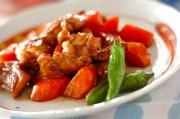 鶏もも肉とニンジンのさっぱり煮