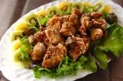 スパイシーカレー味鶏もも肉唐揚げ