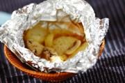 ジャガイモのホイルチーズ焼き