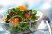 ゴーヤとグレープフルーツのエスニックサラダ