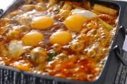 豆腐のピリ辛みそ鍋
