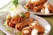 豚ロール揚げ餅