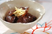 レバーの焼き肉のタレ煮