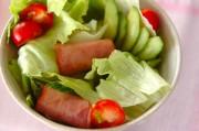 焼豚のサラダ
