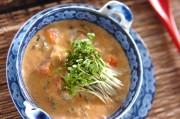 シジミの豆乳スープ