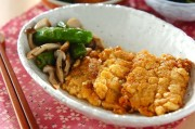 豆腐のウナギ蒲焼き風