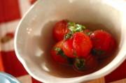 プチトマトの大葉和え