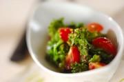 菜の花とプチトマトのマスタード和え