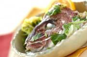魚のアラと白菜の蒸し煮