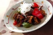 砂肝の炒め物