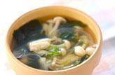 白シメジのスープ