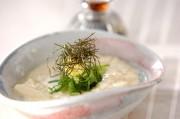 レンジ温豆腐