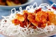 海鮮チリ炒め