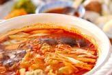 餃子キムチ鍋
