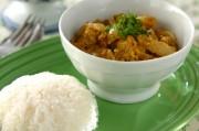 タイ風カニと卵のカレー
