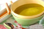 カボチャとニンジンの豆乳スープ