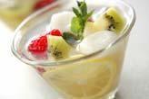 さっぱり白玉フルーツ